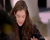TuneWAP Lorde - The Billboard Cover Shoot