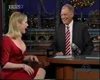 TuneWAP Renee Zellweger on Letterman-Cold Mountain